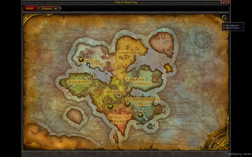 Bonus Objective Wod Map Newhairstylesformen2014 Com