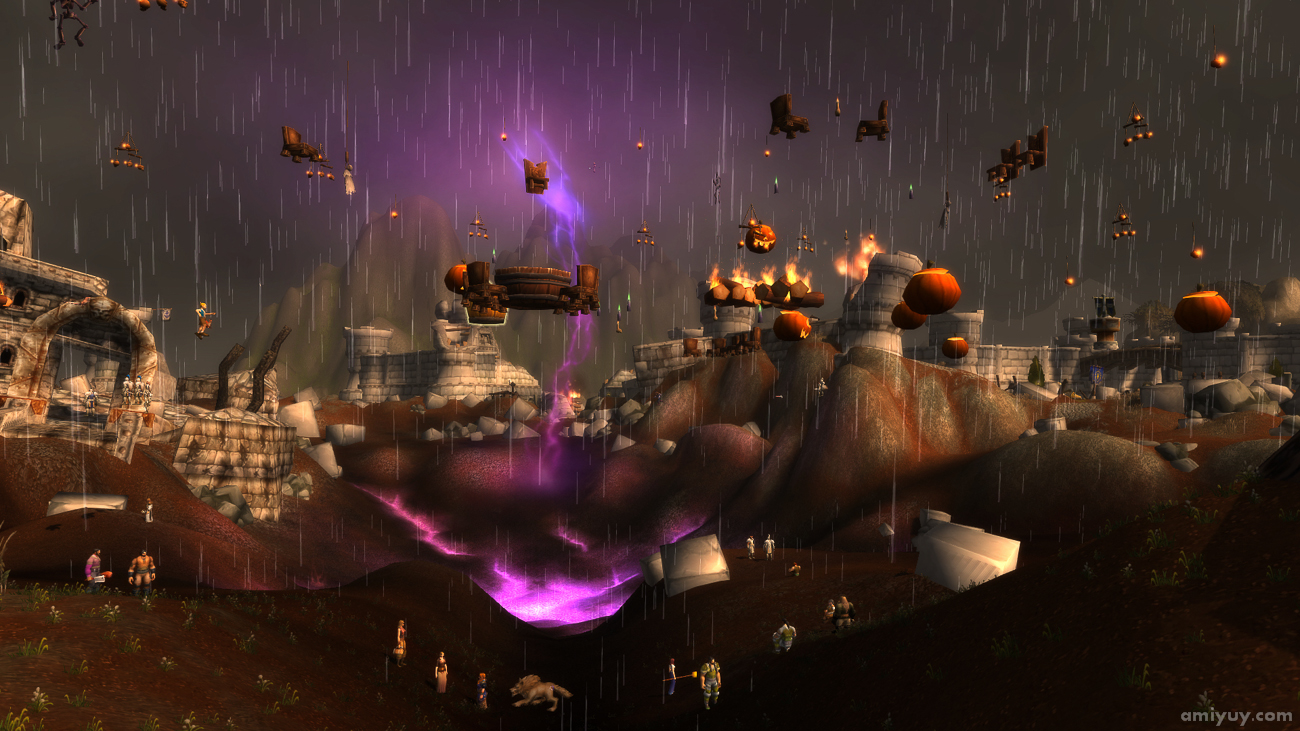 Hallow's End in Destroyed Theramore