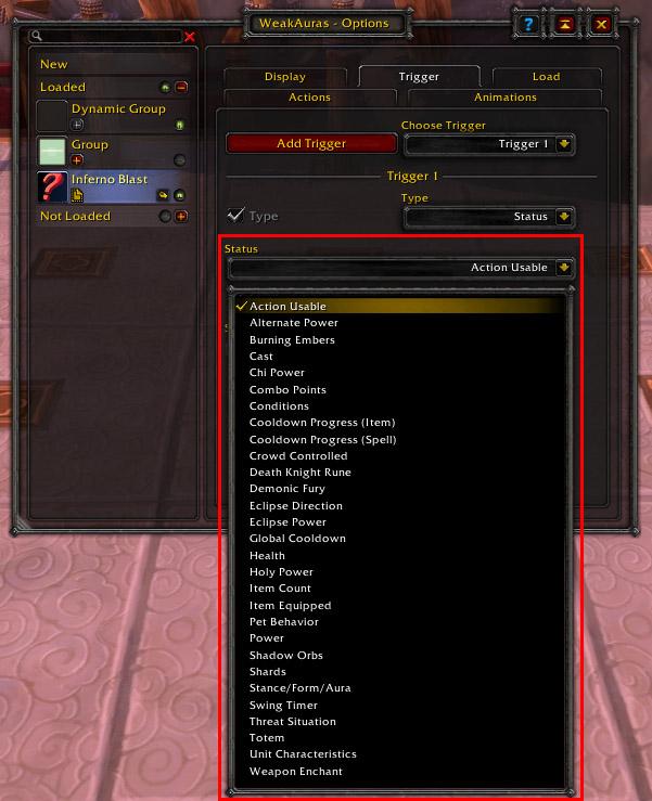 Aura Example-Icon-Trigger Status