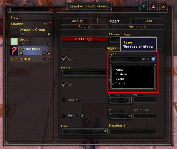 Aura Example-Icon-Trigger Type