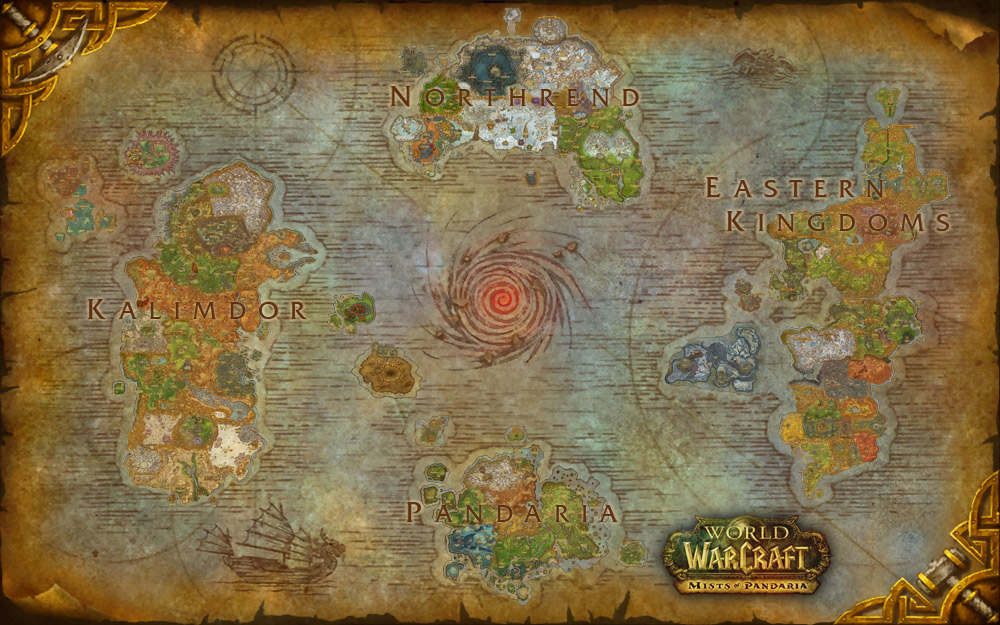high quality printable map of azeroth the stormwind gallery