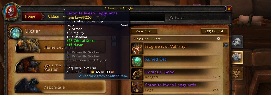 Ready for the Legion Wardrobe? Speed up transmog learning with Can I Mog It!