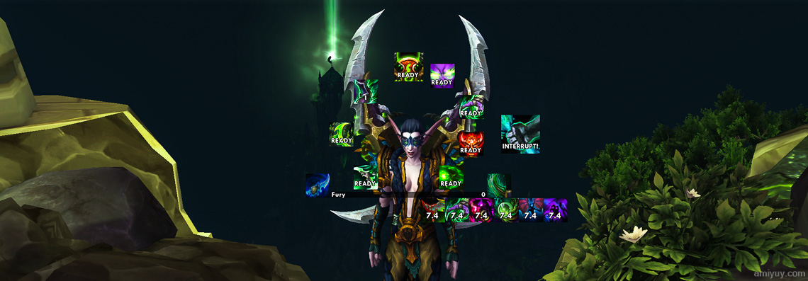 WeakAuras 2: Exports for Demon Hunters – Legion & 7.0