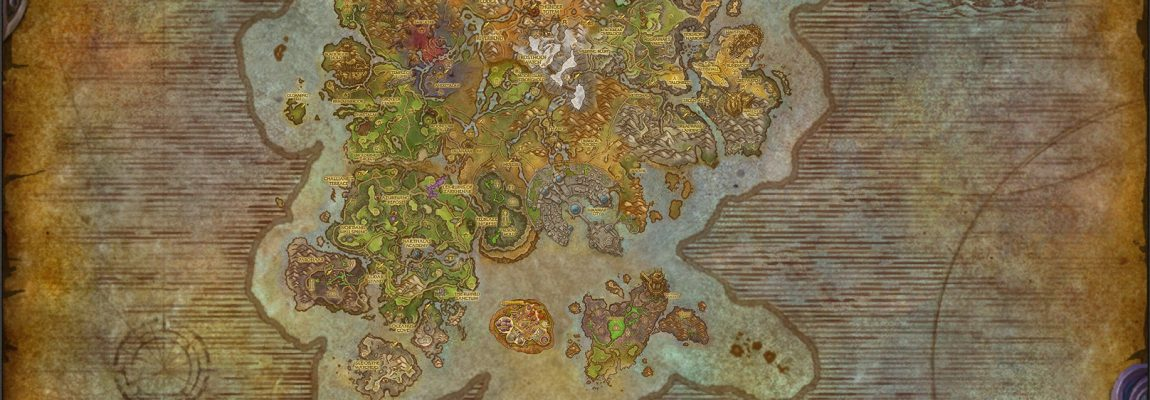 High Quality Composite Map of The Broken Isles